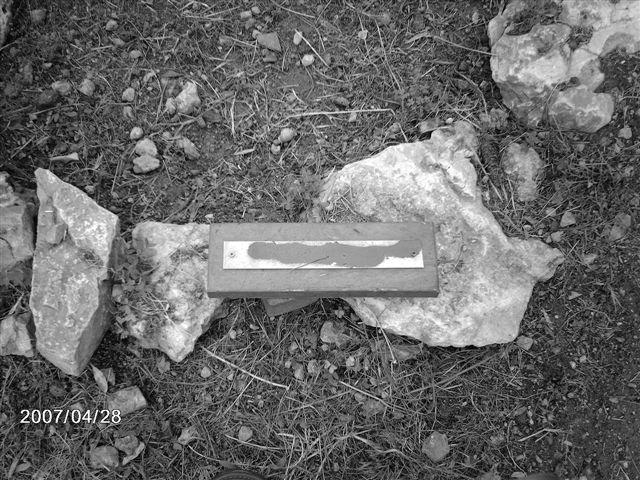 Nou atac feixista al Bosc de la Memòria (Calvià)