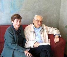Doris i Luis Andrés Edo el dia de la presentació