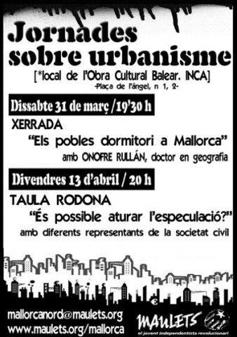 Jornades sobre urbanisme