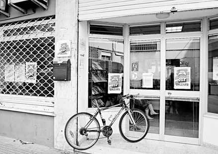 Seu de CGT al carrer Àngel Guimerà de Palma