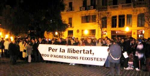 Concentració antifeixista (22-03-07)