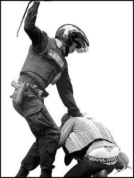 Prou brutalitat policíaca