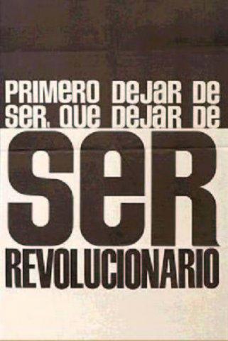 Ser revolucionari...